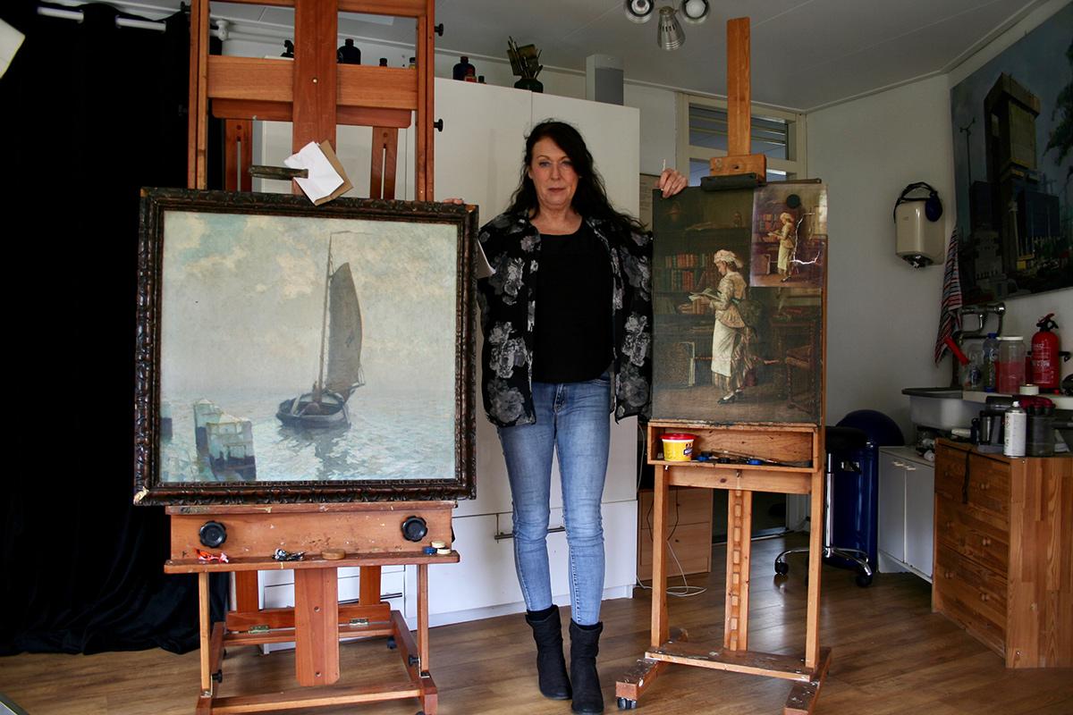Schilderijen-restauratie-atelier-Rotterdam