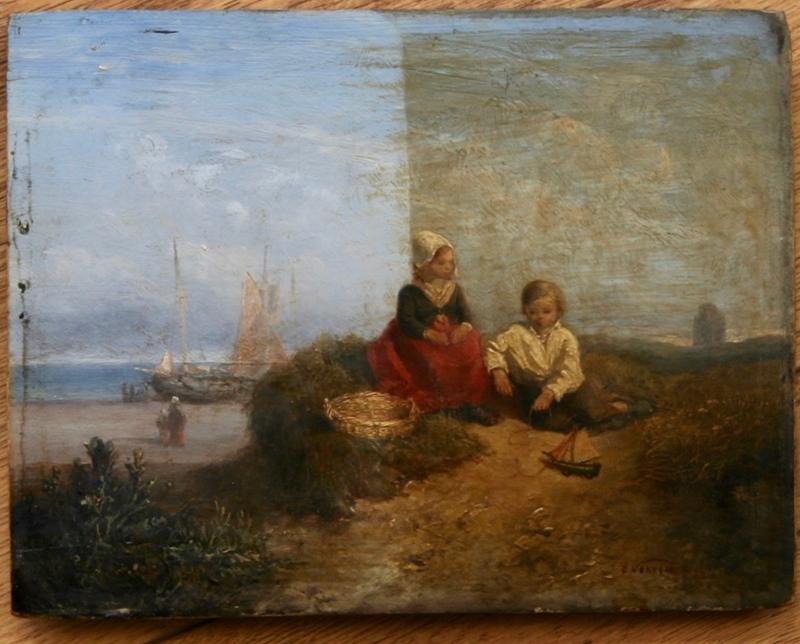 Schilderij restaureren Rotterdam