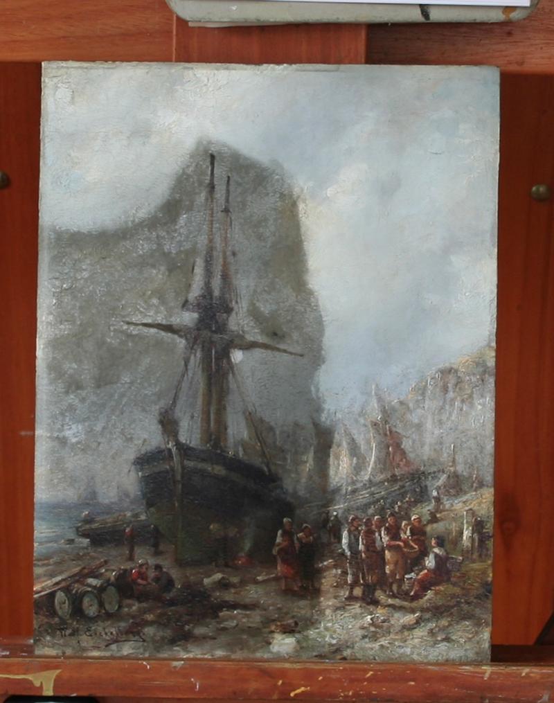 Vuil schilderij schoonmaken Rotterdam